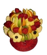 Торты фруктовые корзины