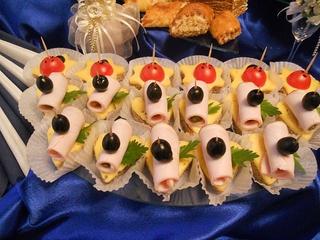 144Бутерброды для свадебного стола рецепты
