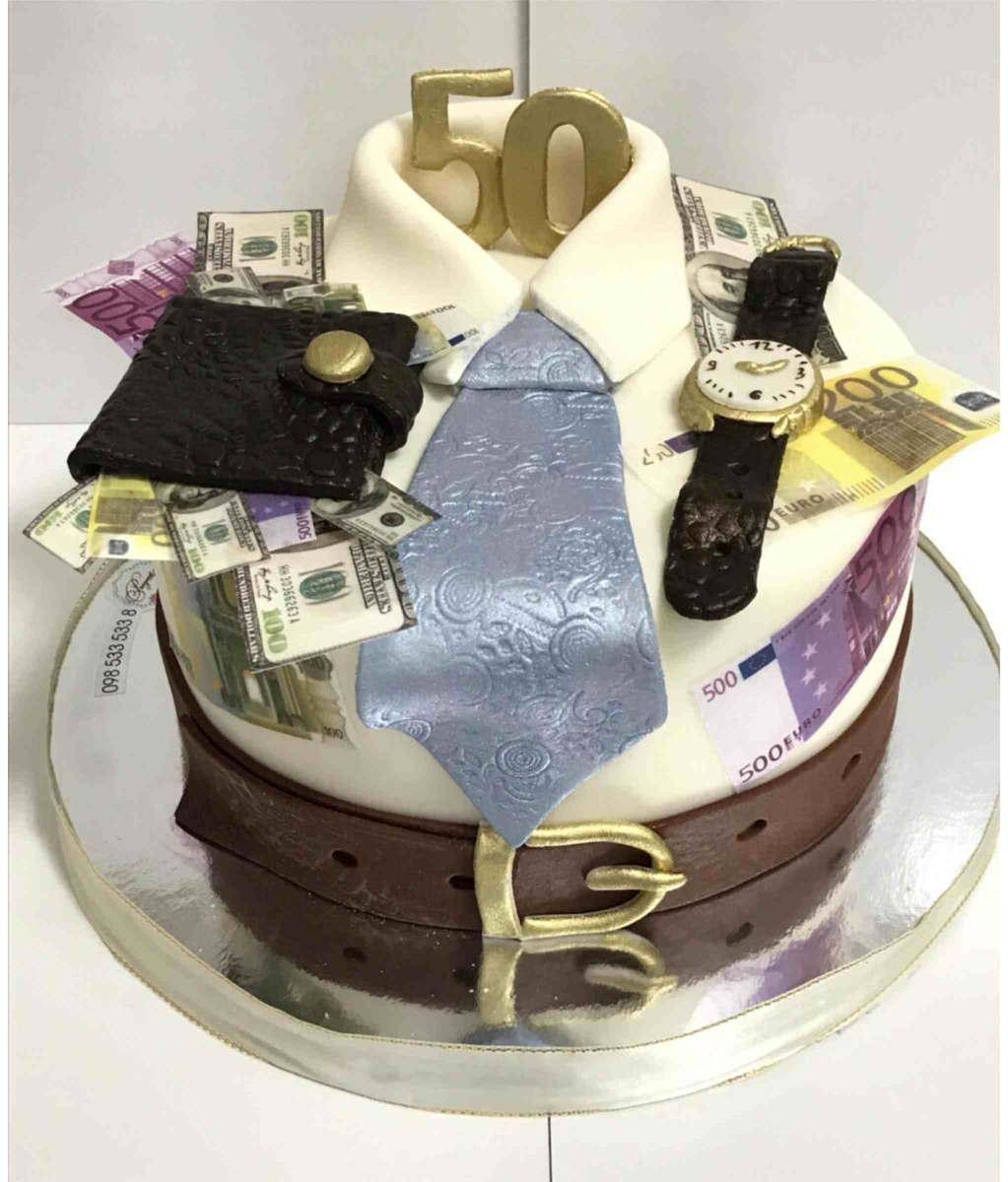 Мужской торт.Торт для мужчины на день рождение