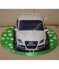 торт в виде машины ауди рецепт